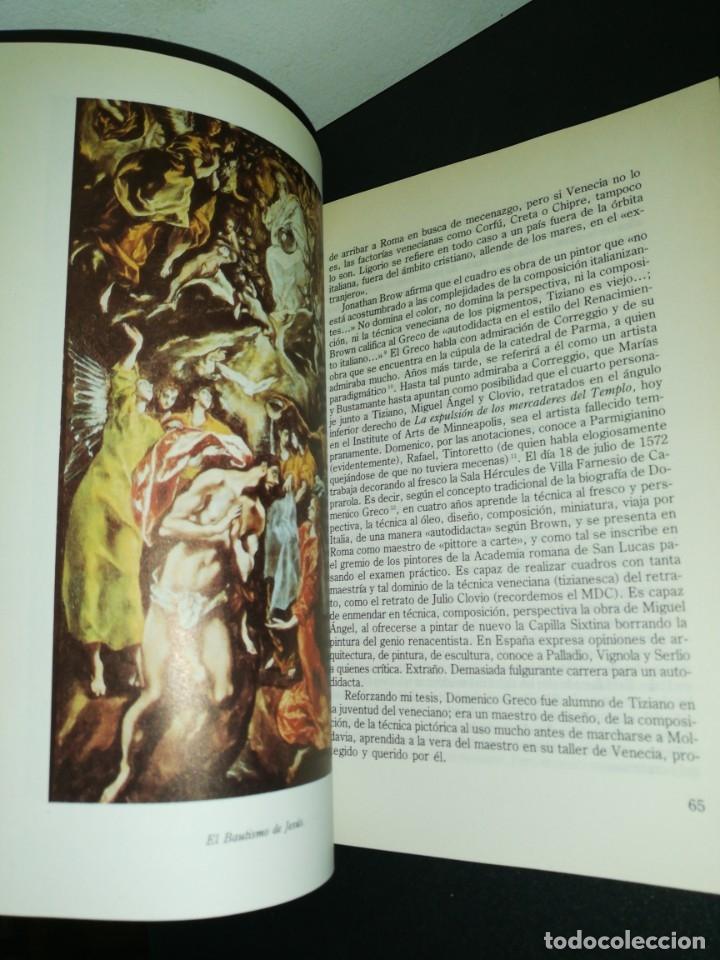 Libros de segunda mano: Jose Sánchez luengo, el misticismo de domeniko greco - Foto 2 - 180430996