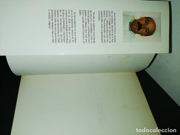 Libros de segunda mano: Jose Sánchez luengo, el misticismo de domeniko greco - Foto 3 - 180430996