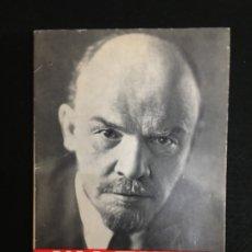 Libros de segunda mano: V. I. LENIN. BREVE ESBOZO BIOGRÁFICO. EDICIONES DEL SEMANARIO - NOVEDADES DE MOSCÚ - 1969.. Lote 180454798