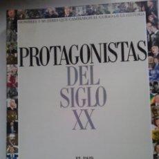 Libros de segunda mano: PROTAGONISTAS DEL SIGLO XX-EL PAIS 2000. Lote 180879140