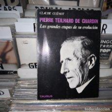 Libros de segunda mano: CLAUDE CUENOT,PIERRE TEILHARD DE CHARDIN. Lote 181017778