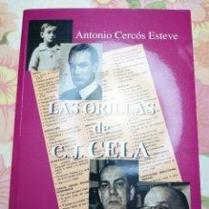 Libros de segunda mano: LAS ORILLAS DE C. J. CELA (ANTONIO CERCÓS ESTEVE). Lote 181438111