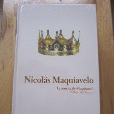Libros de segunda mano: NICOLÁS MAQUIAVELO. Lote 181911135