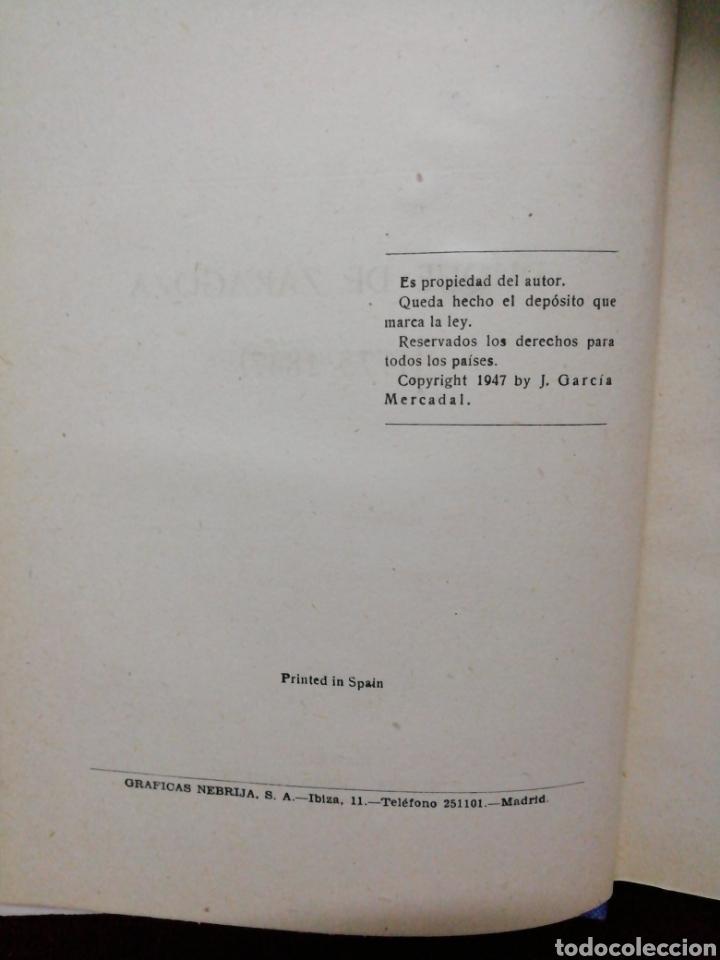Libros de segunda mano: Palafox, Duque de Zaragoza. J. Garcia Mercadal. Editorial Gran Capitán. Año 1948 - Foto 3 - 181988255