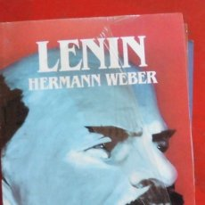 Libros de segunda mano: LENIN. HERMANN WEBER. EDITORIAL SALVAT. LIBRO NUEVO. Lote 182052190