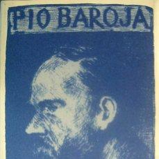 Libros de segunda mano: BAROJA, PÍO - LA GUERRA CIVIL EN LA FRONTERA - TOMO VIII DE SUS MEMORIAS. Lote 182121273