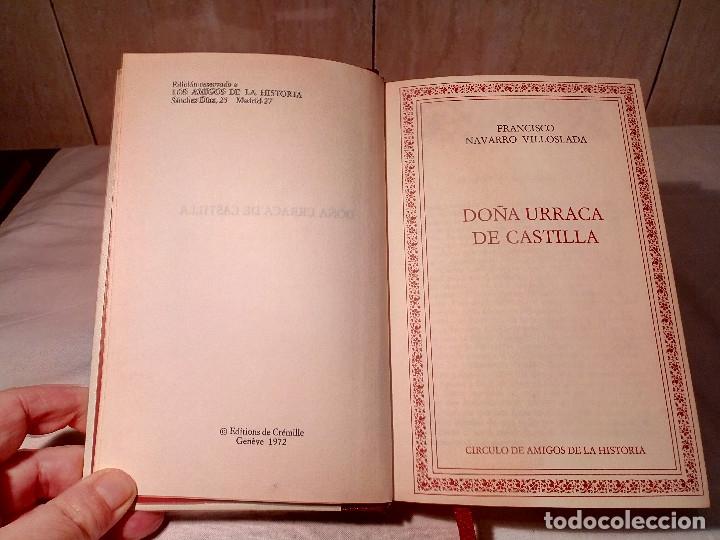 Libros de segunda mano: 14-DOÑA BLANCA DE NAVARRA, DOÑA URRACA DE CASTILLA, Francisco Navarro Villoslada.1972 - Foto 6 - 182269610