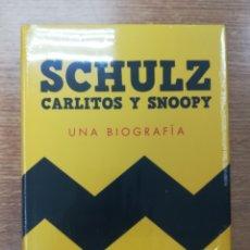 Libros de segunda mano: SCHULZ CARLITOS Y SNOOPY UNA BIOGRAFIA (DAVID MICHAELIS). Lote 182310177