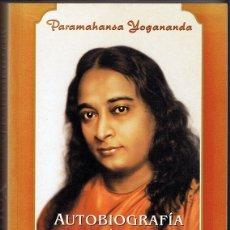 Libros de segunda mano: AUTOBIOGRAFÍA DE UN YOGUI PARAMAHANSA YOGANANDA. Lote 182623040