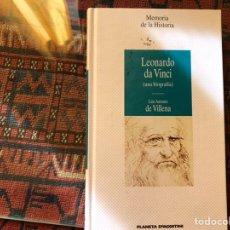 Libros de segunda mano: LEONARDO DA VINCI. UNA BIOGRAFÍA. LUIS ANTONIO DE VILLENA. Lote 182739033