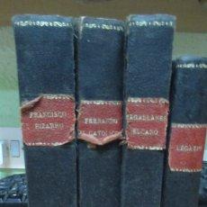 Libros de segunda mano: BIBLIOTECA LA ESPAÑA IMPERIAL. LEGAZPI ELCANO FERNANDO EL CATOLICO FRANCISCO PIZARRO MAGALLANES 4. Lote 182813677