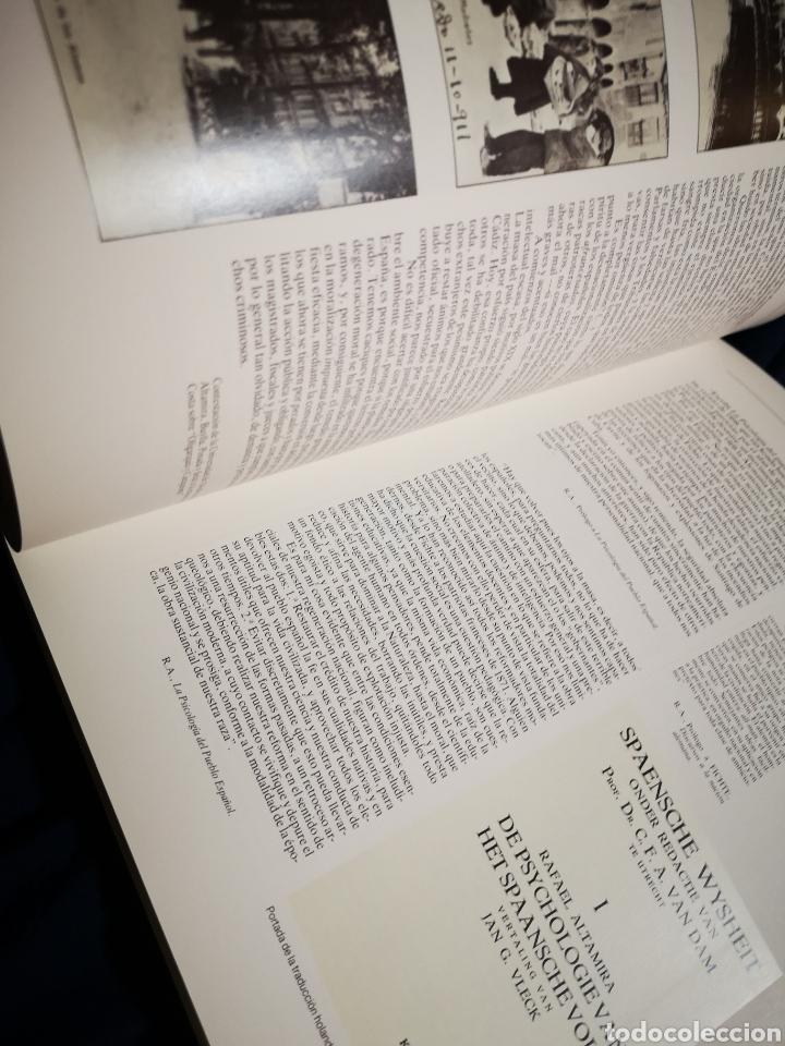 Libros de segunda mano: Rafael Altamira: 1866-1951 - Foto 2 - 183041873