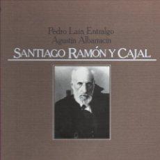 Libros de segunda mano: P. LAÍN ENTRALGO / AGUSTÍN ALBARRACÍN : SANTIAGO RAMÓN Y CAJAL (LABOR, 1978) GRAN FORMATO. Lote 183087132