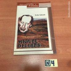 Libros de segunda mano: MIGUEL DELIBES. Lote 183912967