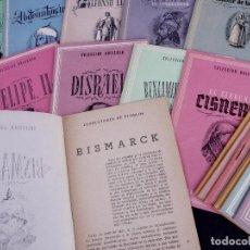 Libros de segunda mano: CONDUCTORES DE PUEBLOS, TOMO 11. COLECCION UNIVERSO. MADRID AÑOS 50. Lote 184094623