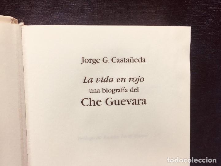 Libros de segunda mano: biografia che guevara jorge castañeda renfe abc centenario - Foto 2 - 184119120
