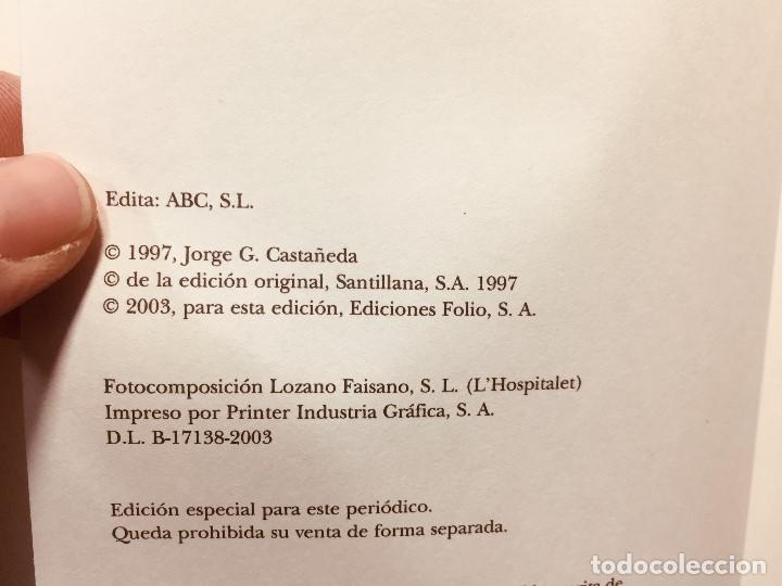 Libros de segunda mano: biografia che guevara jorge castañeda renfe abc centenario - Foto 8 - 184119120