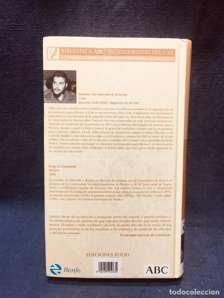 Libros de segunda mano: biografia che guevara jorge castañeda renfe abc centenario - Foto 10 - 184119120