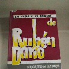 Libros de segunda mano: LA VIDA Y EL VERBO DE RUBÉN DARÍO - BERNARDINO DE PANTORBA. 1967. COMPI. Lote 184902085