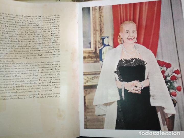 Libros de segunda mano: EVA PERON 34X28 CM 140 PAGINAS (FOTOS) S.I.P.A. SERVICIO INTERNACIONAL DE PUBLICACIONES ARGENTINA - Foto 5 - 184917350