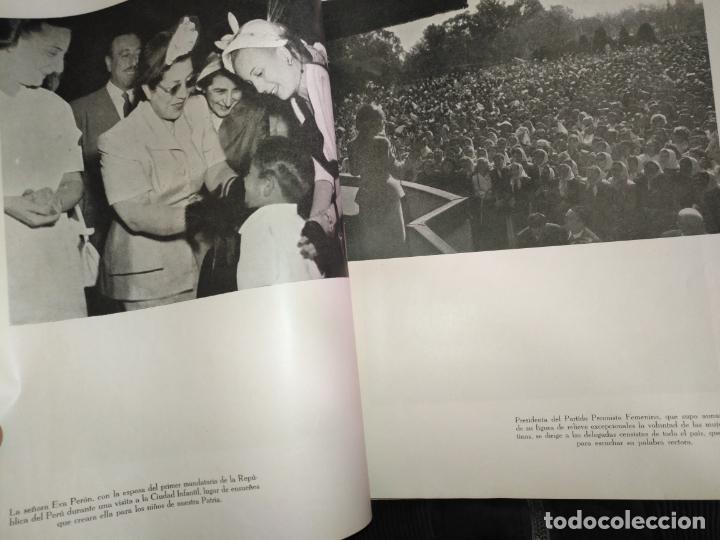 Libros de segunda mano: EVA PERON 34X28 CM 140 PAGINAS (FOTOS) S.I.P.A. SERVICIO INTERNACIONAL DE PUBLICACIONES ARGENTINA - Foto 6 - 184917350