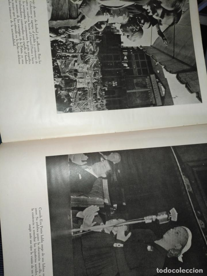 Libros de segunda mano: EVA PERON 34X28 CM 140 PAGINAS (FOTOS) S.I.P.A. SERVICIO INTERNACIONAL DE PUBLICACIONES ARGENTINA - Foto 11 - 184917350
