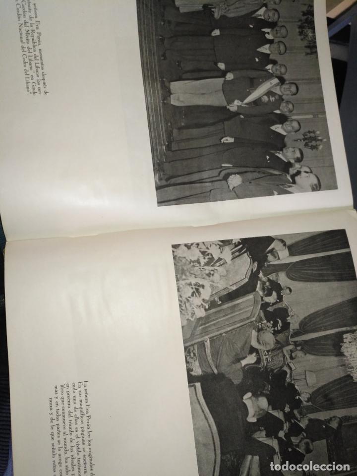 Libros de segunda mano: EVA PERON 34X28 CM 140 PAGINAS (FOTOS) S.I.P.A. SERVICIO INTERNACIONAL DE PUBLICACIONES ARGENTINA - Foto 18 - 184917350