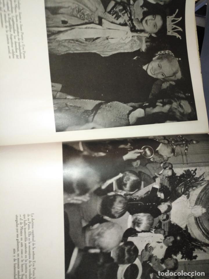 Libros de segunda mano: EVA PERON 34X28 CM 140 PAGINAS (FOTOS) S.I.P.A. SERVICIO INTERNACIONAL DE PUBLICACIONES ARGENTINA - Foto 19 - 184917350