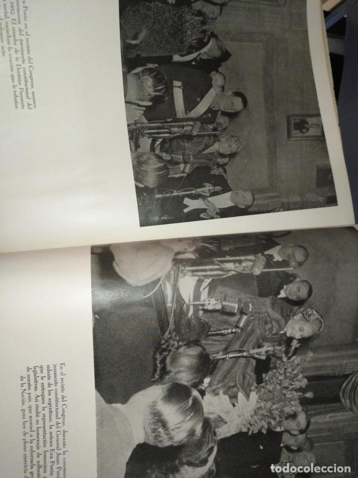 Libros de segunda mano: EVA PERON 34X28 CM 140 PAGINAS (FOTOS) S.I.P.A. SERVICIO INTERNACIONAL DE PUBLICACIONES ARGENTINA - Foto 21 - 184917350