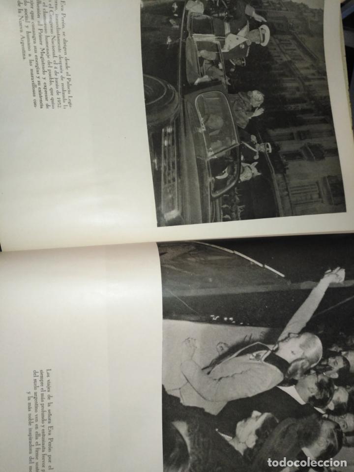Libros de segunda mano: EVA PERON 34X28 CM 140 PAGINAS (FOTOS) S.I.P.A. SERVICIO INTERNACIONAL DE PUBLICACIONES ARGENTINA - Foto 22 - 184917350