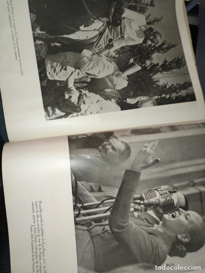 Libros de segunda mano: EVA PERON 34X28 CM 140 PAGINAS (FOTOS) S.I.P.A. SERVICIO INTERNACIONAL DE PUBLICACIONES ARGENTINA - Foto 24 - 184917350