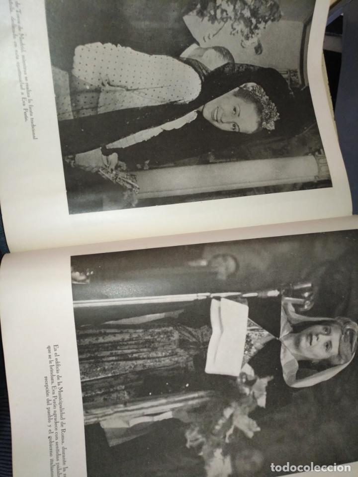 Libros de segunda mano: EVA PERON 34X28 CM 140 PAGINAS (FOTOS) S.I.P.A. SERVICIO INTERNACIONAL DE PUBLICACIONES ARGENTINA - Foto 26 - 184917350