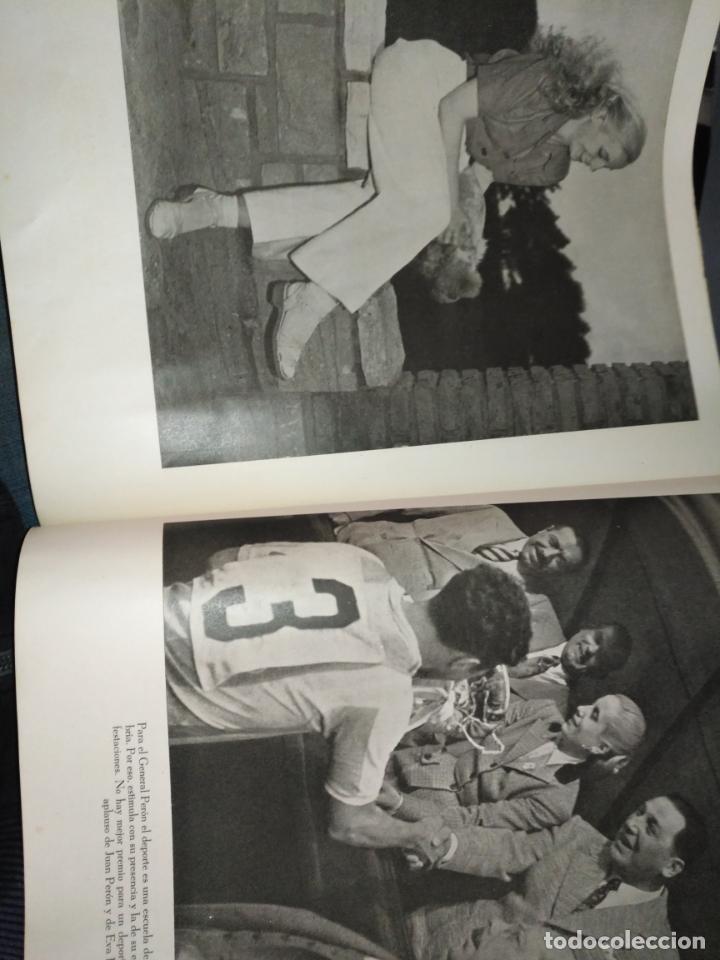 Libros de segunda mano: EVA PERON 34X28 CM 140 PAGINAS (FOTOS) S.I.P.A. SERVICIO INTERNACIONAL DE PUBLICACIONES ARGENTINA - Foto 27 - 184917350