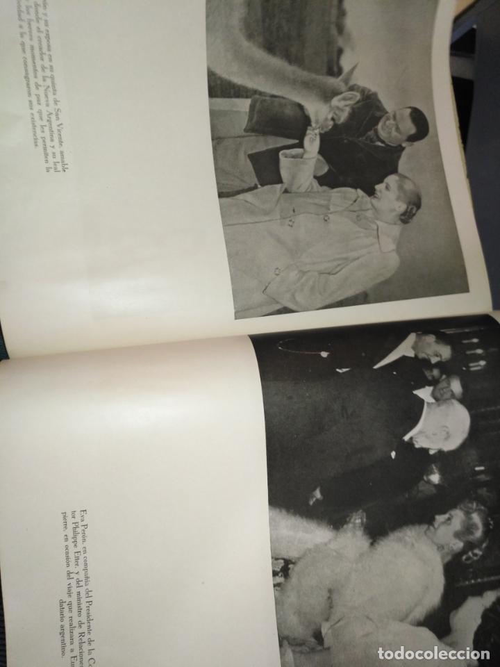 Libros de segunda mano: EVA PERON 34X28 CM 140 PAGINAS (FOTOS) S.I.P.A. SERVICIO INTERNACIONAL DE PUBLICACIONES ARGENTINA - Foto 28 - 184917350
