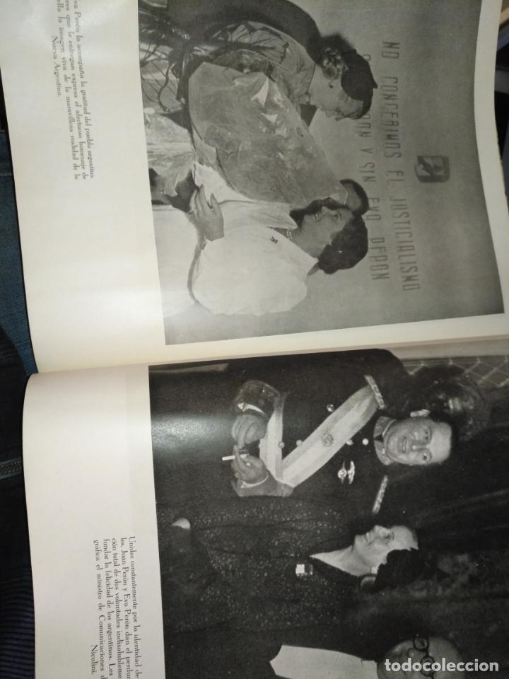 Libros de segunda mano: EVA PERON 34X28 CM 140 PAGINAS (FOTOS) S.I.P.A. SERVICIO INTERNACIONAL DE PUBLICACIONES ARGENTINA - Foto 29 - 184917350