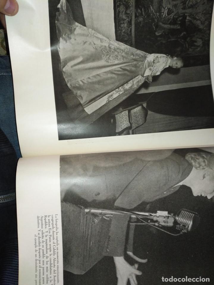 Libros de segunda mano: EVA PERON 34X28 CM 140 PAGINAS (FOTOS) S.I.P.A. SERVICIO INTERNACIONAL DE PUBLICACIONES ARGENTINA - Foto 30 - 184917350