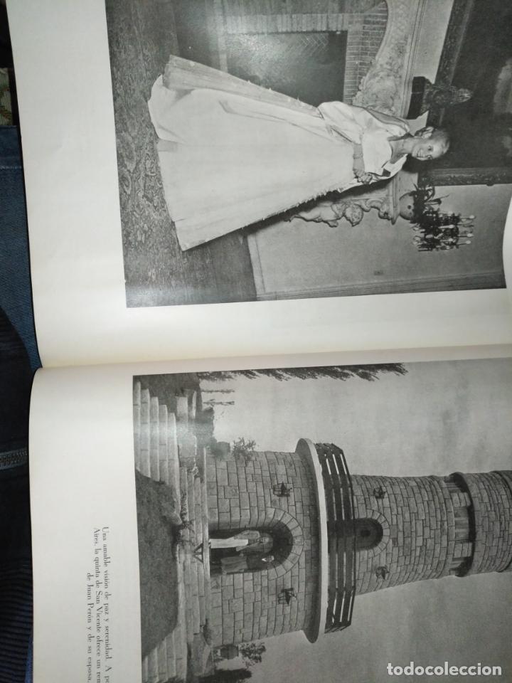 Libros de segunda mano: EVA PERON 34X28 CM 140 PAGINAS (FOTOS) S.I.P.A. SERVICIO INTERNACIONAL DE PUBLICACIONES ARGENTINA - Foto 31 - 184917350