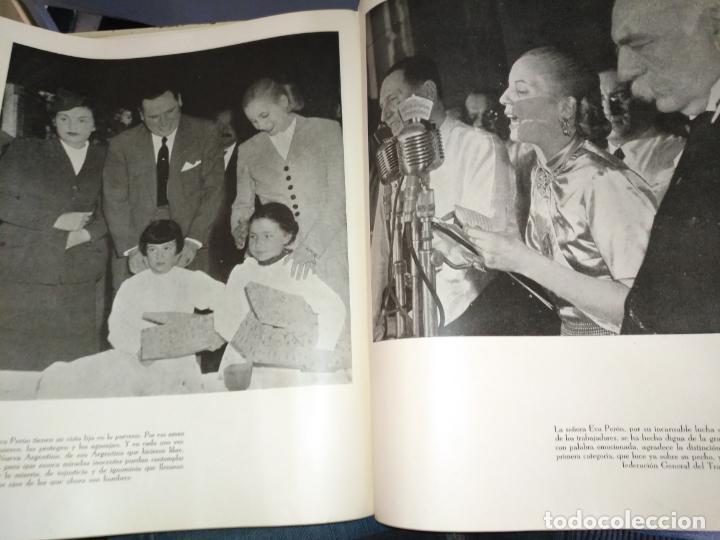 Libros de segunda mano: EVA PERON 34X28 CM 140 PAGINAS (FOTOS) S.I.P.A. SERVICIO INTERNACIONAL DE PUBLICACIONES ARGENTINA - Foto 33 - 184917350
