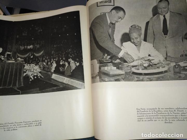 Libros de segunda mano: EVA PERON 34X28 CM 140 PAGINAS (FOTOS) S.I.P.A. SERVICIO INTERNACIONAL DE PUBLICACIONES ARGENTINA - Foto 34 - 184917350