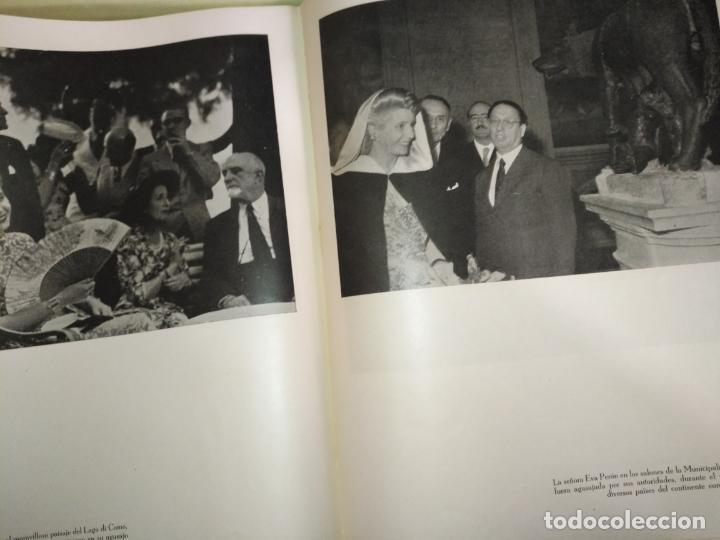 Libros de segunda mano: EVA PERON 34X28 CM 140 PAGINAS (FOTOS) S.I.P.A. SERVICIO INTERNACIONAL DE PUBLICACIONES ARGENTINA - Foto 37 - 184917350