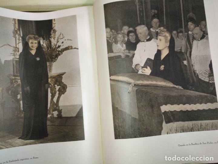 Libros de segunda mano: EVA PERON 34X28 CM 140 PAGINAS (FOTOS) S.I.P.A. SERVICIO INTERNACIONAL DE PUBLICACIONES ARGENTINA - Foto 39 - 184917350