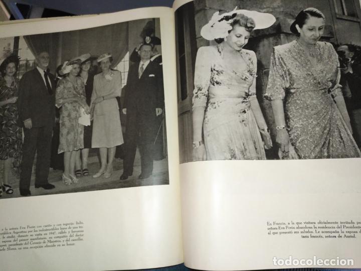 Libros de segunda mano: EVA PERON 34X28 CM 140 PAGINAS (FOTOS) S.I.P.A. SERVICIO INTERNACIONAL DE PUBLICACIONES ARGENTINA - Foto 41 - 184917350