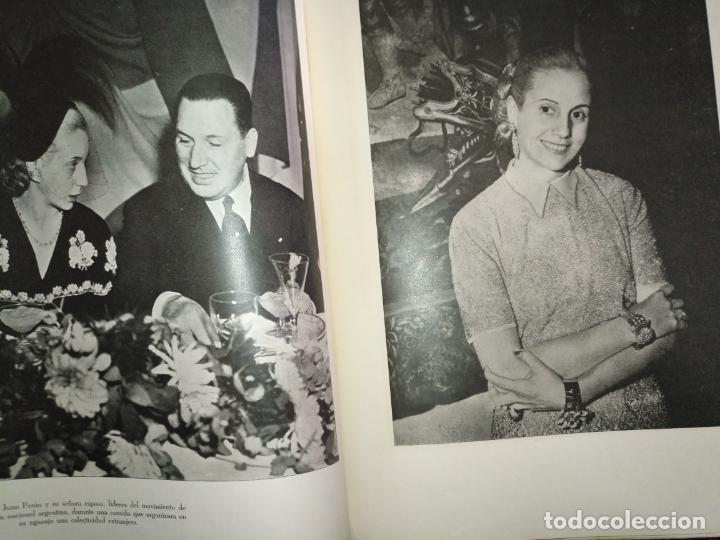 Libros de segunda mano: EVA PERON 34X28 CM 140 PAGINAS (FOTOS) S.I.P.A. SERVICIO INTERNACIONAL DE PUBLICACIONES ARGENTINA - Foto 42 - 184917350