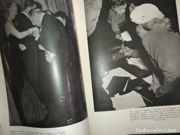 Libros de segunda mano: EVA PERON 34X28 CM 140 PAGINAS (FOTOS) S.I.P.A. SERVICIO INTERNACIONAL DE PUBLICACIONES ARGENTINA - Foto 43 - 184917350