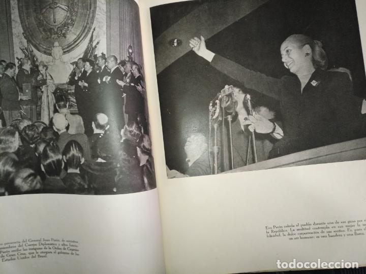 Libros de segunda mano: EVA PERON 34X28 CM 140 PAGINAS (FOTOS) S.I.P.A. SERVICIO INTERNACIONAL DE PUBLICACIONES ARGENTINA - Foto 44 - 184917350