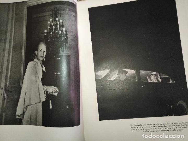 Libros de segunda mano: EVA PERON 34X28 CM 140 PAGINAS (FOTOS) S.I.P.A. SERVICIO INTERNACIONAL DE PUBLICACIONES ARGENTINA - Foto 46 - 184917350