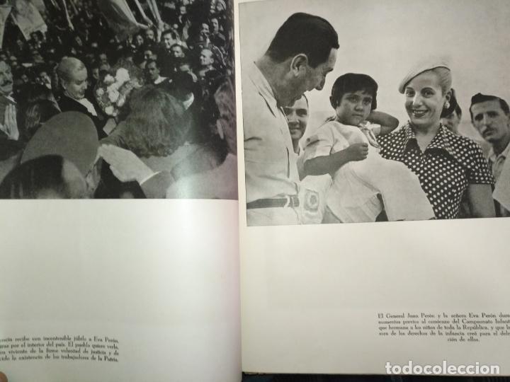 Libros de segunda mano: EVA PERON 34X28 CM 140 PAGINAS (FOTOS) S.I.P.A. SERVICIO INTERNACIONAL DE PUBLICACIONES ARGENTINA - Foto 47 - 184917350