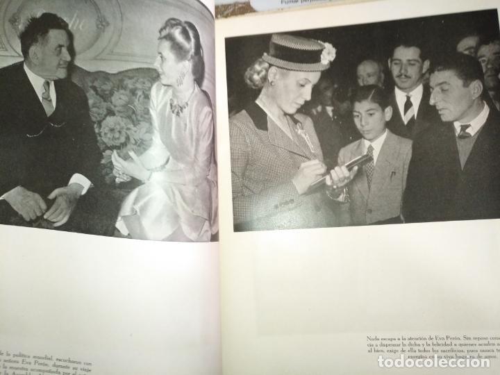 Libros de segunda mano: EVA PERON 34X28 CM 140 PAGINAS (FOTOS) S.I.P.A. SERVICIO INTERNACIONAL DE PUBLICACIONES ARGENTINA - Foto 51 - 184917350