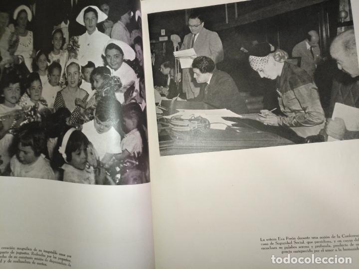 Libros de segunda mano: EVA PERON 34X28 CM 140 PAGINAS (FOTOS) S.I.P.A. SERVICIO INTERNACIONAL DE PUBLICACIONES ARGENTINA - Foto 53 - 184917350