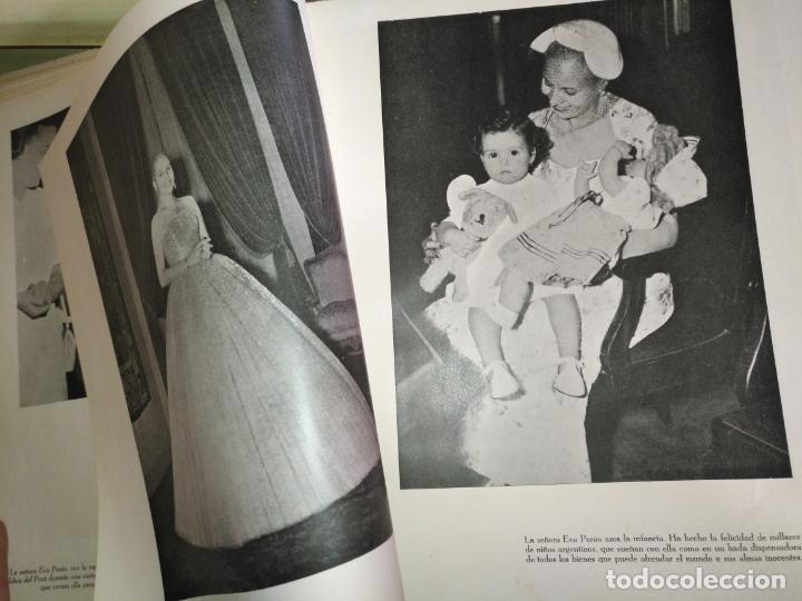Libros de segunda mano: EVA PERON 34X28 CM 140 PAGINAS (FOTOS) S.I.P.A. SERVICIO INTERNACIONAL DE PUBLICACIONES ARGENTINA - Foto 59 - 184917350
